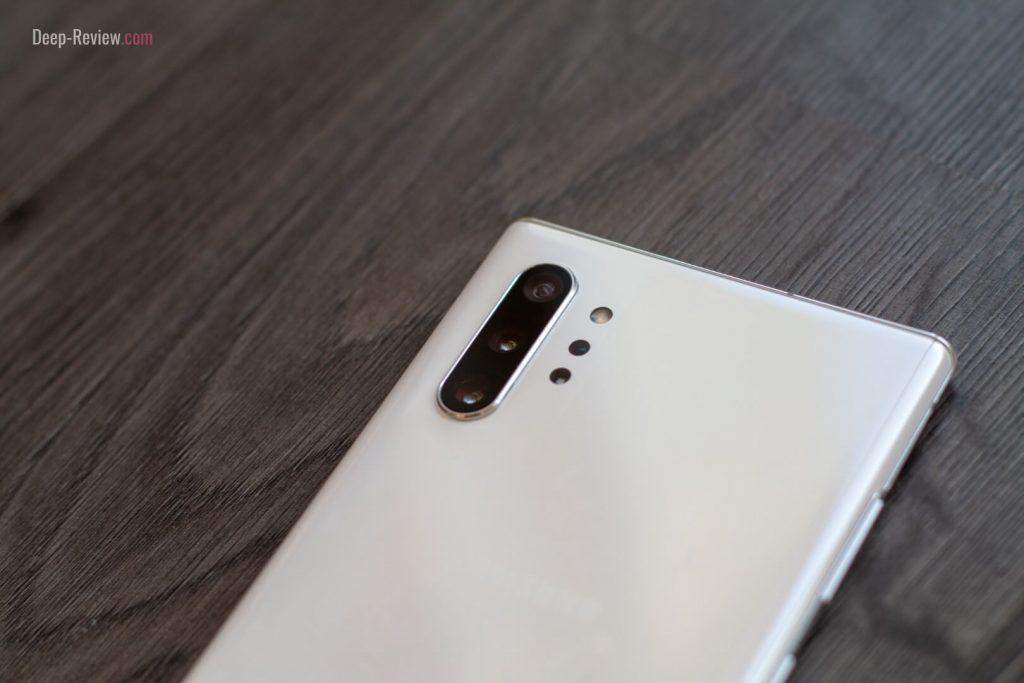 Задняя сторона Samsung Galaxy Note10+