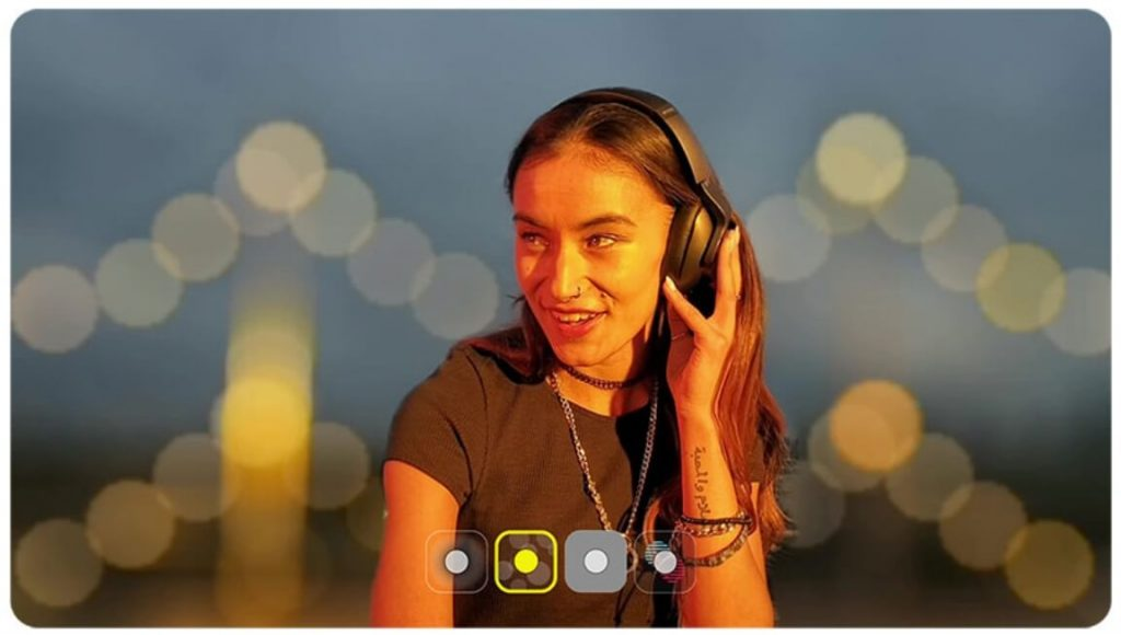 Видео с размытым фоном на Galaxy Note 10