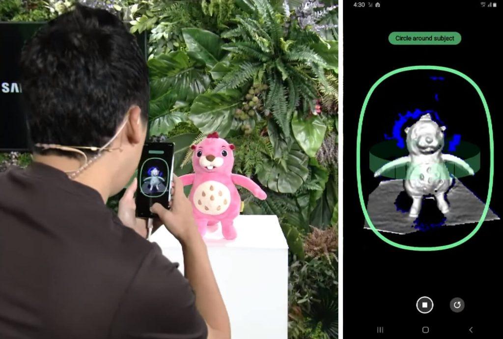 ToF-камера 3d-сканер Galaxy Note 10+