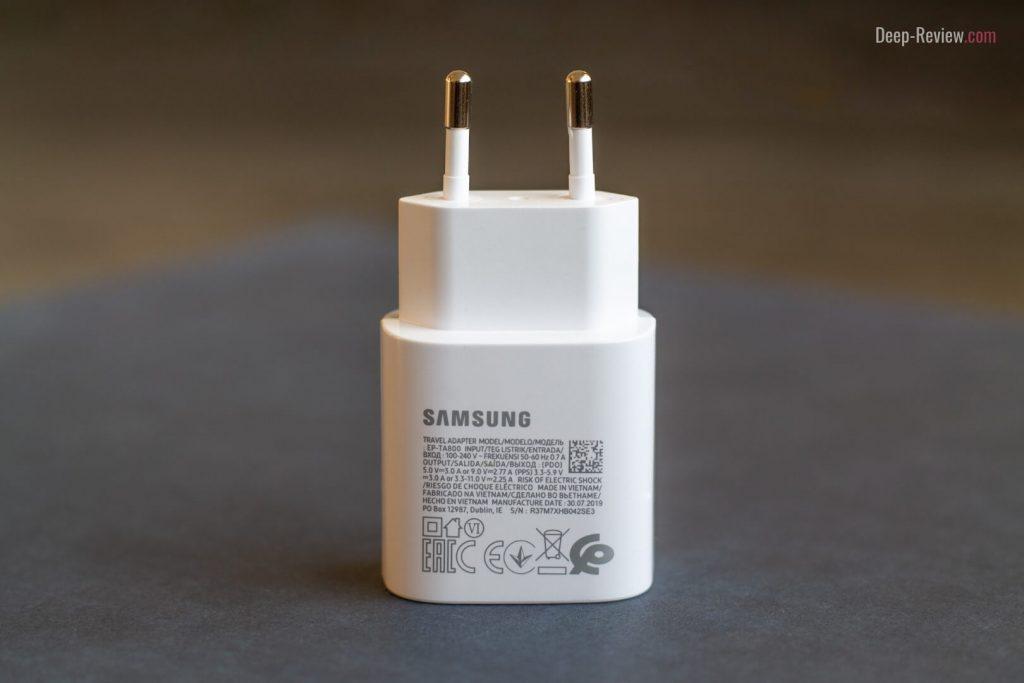 зарядное устройство от Galaxy Note 10+
