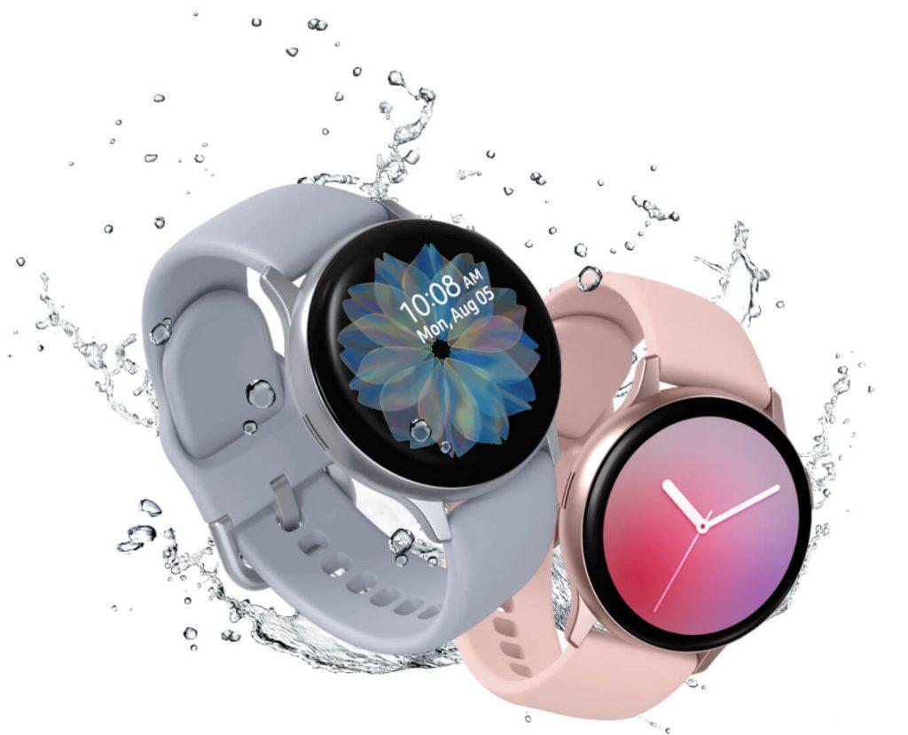 влагозащита Samsung Galaxy Watch Active 2