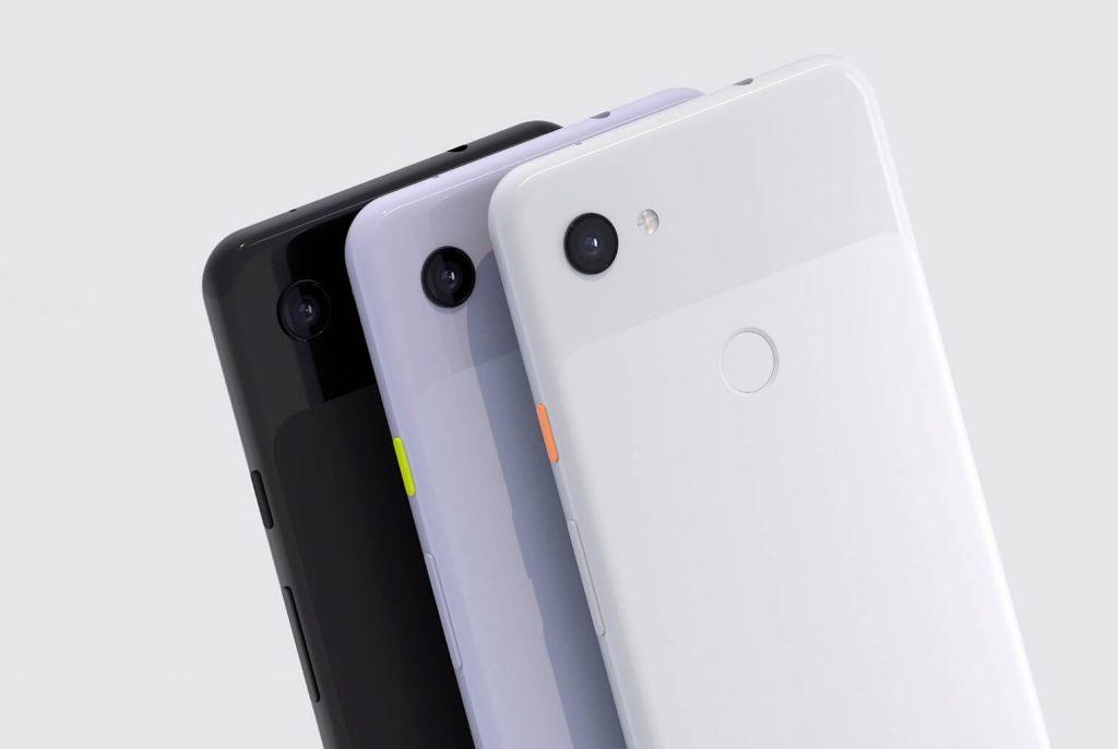 дизайн задней панели Google Pixel 3