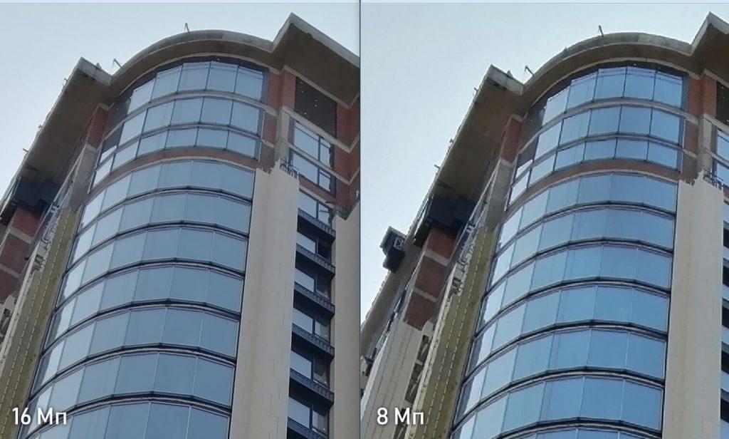 сравнение 8 мп и 16 мп фото на камеру Huawei P Smart Z