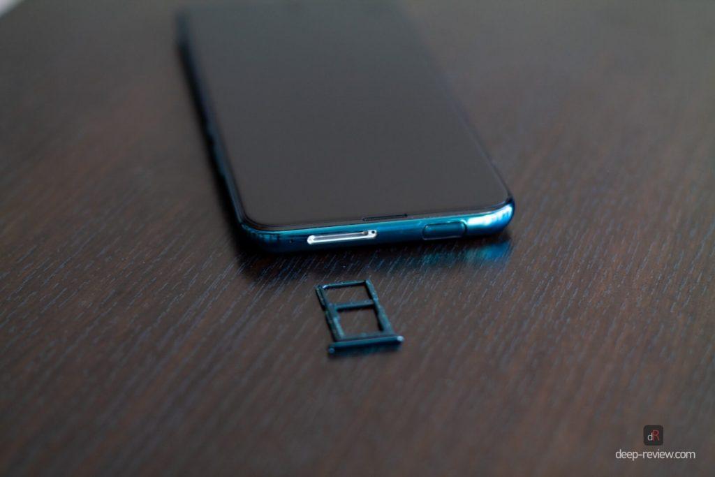 гибридный слот SIM-карт на Huawei P Smart Z
