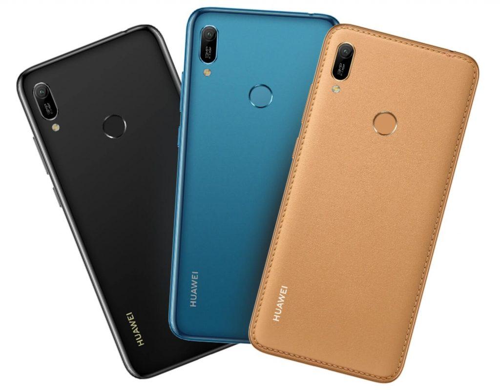 цветовые варианты оформления Huawei Y6 2019