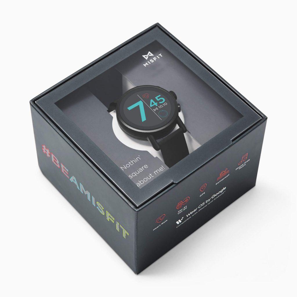 умные часы Misfit Vapor X в упаковке