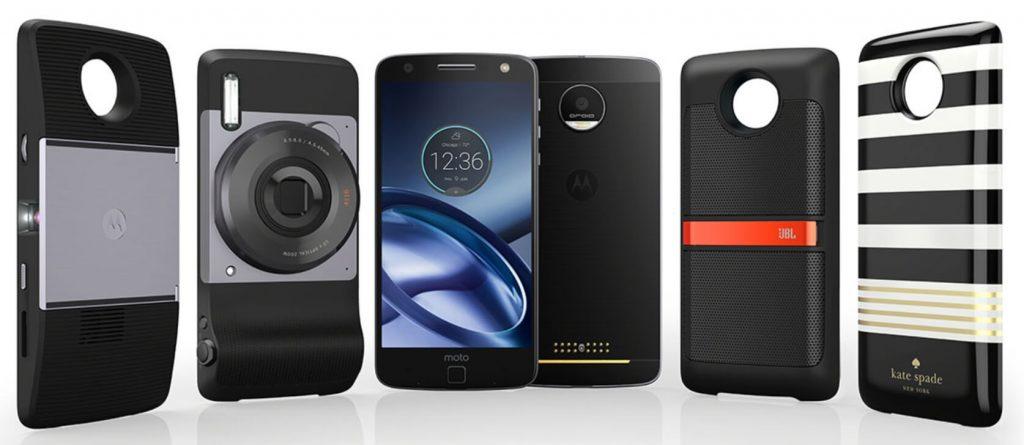 модули для смартфона Moto Z