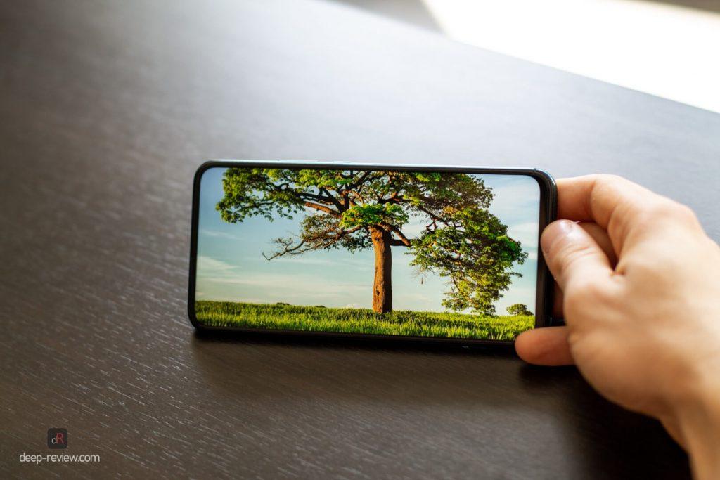 видео на экране Huawei P Smart Z