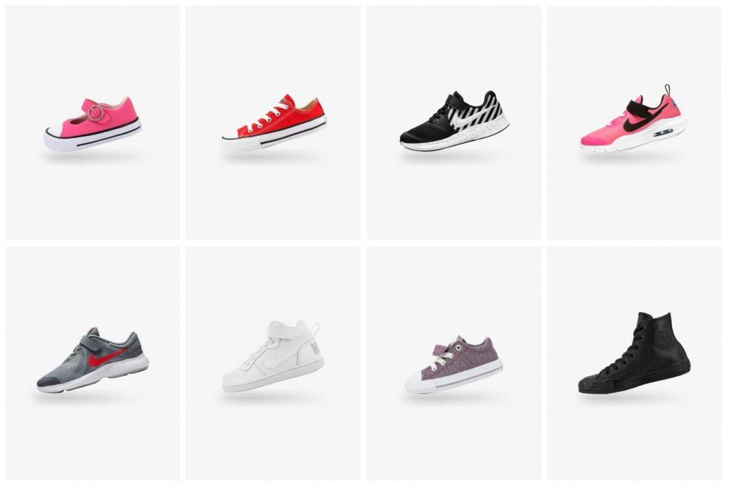 дизайн кроссовок Nike