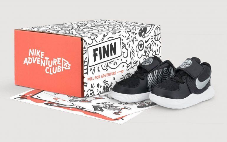 Сервис кроссовок по подписке для детей от Nike