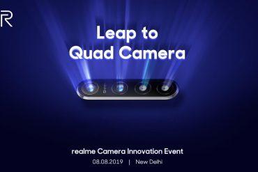 смартфон Realme с камерой на 64 Мп