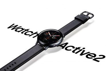 новые умные часы Samsung Galaxy Watch Active 2