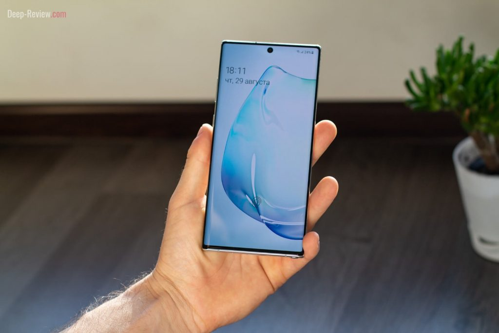 дизайн Samsung Galaxy Note 10+