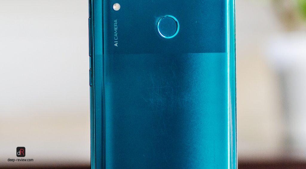 царапины на крышке Huawei P Smart Z
