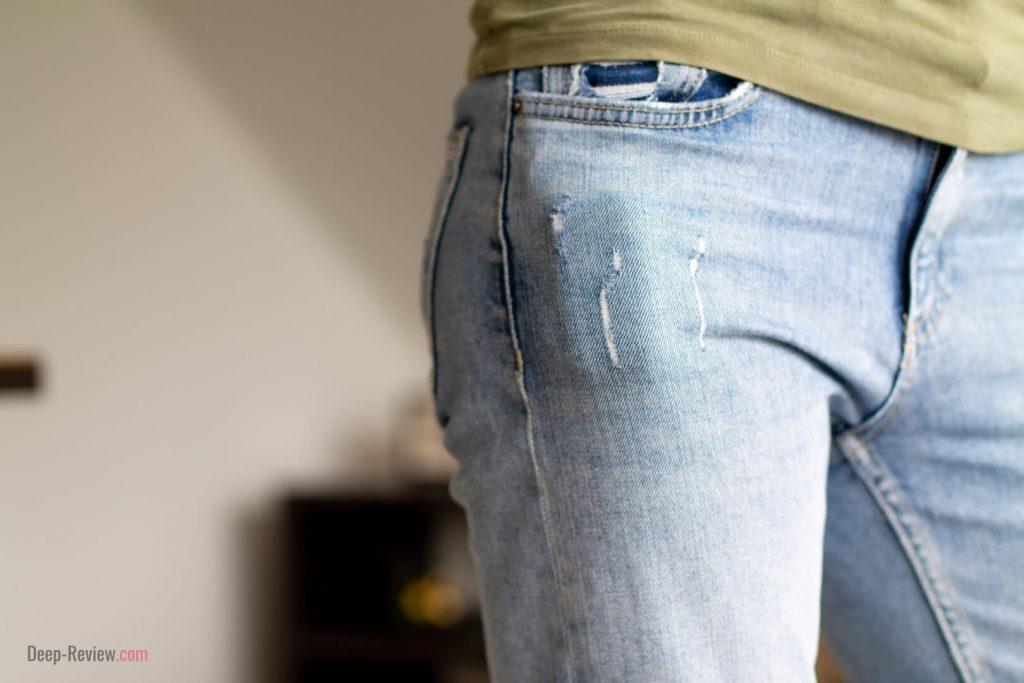 Sennheiser Momentum TW в джинсах