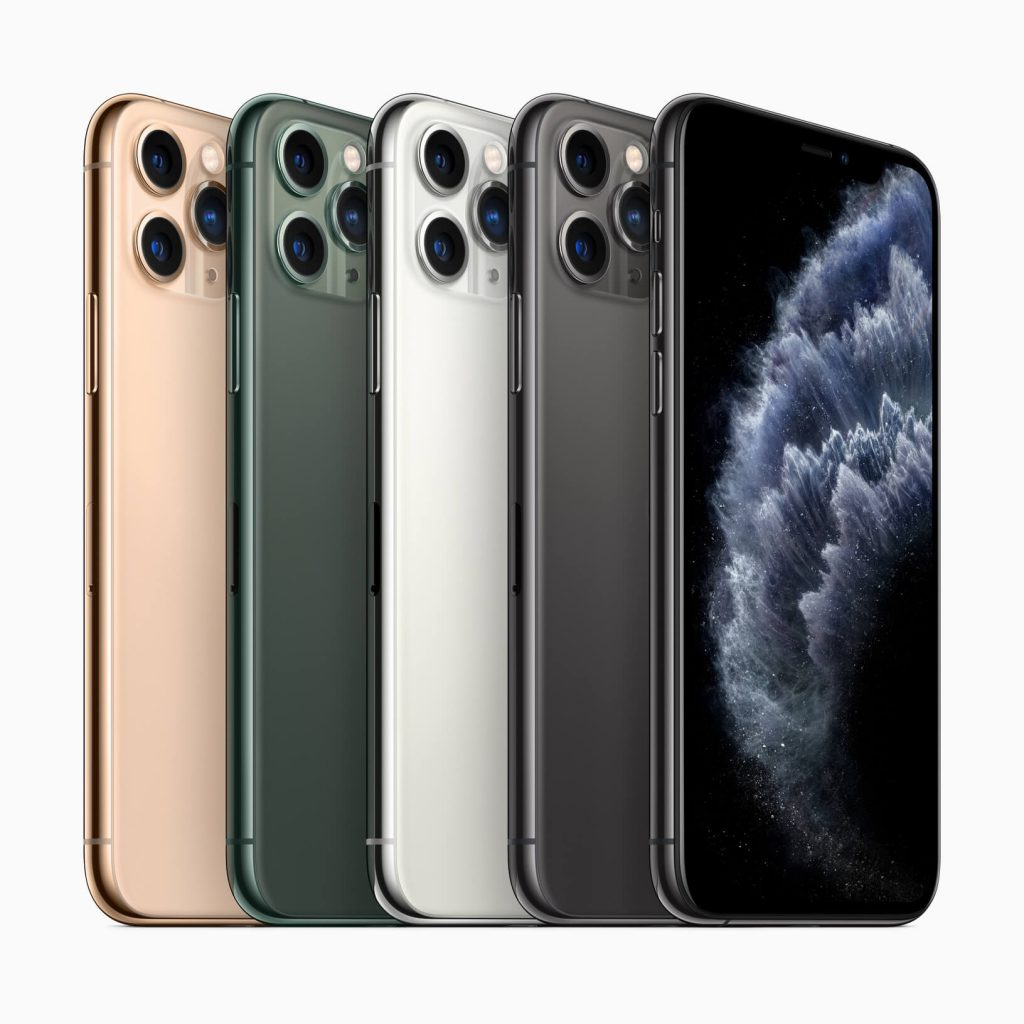Дизайн iPhone 11 Pro