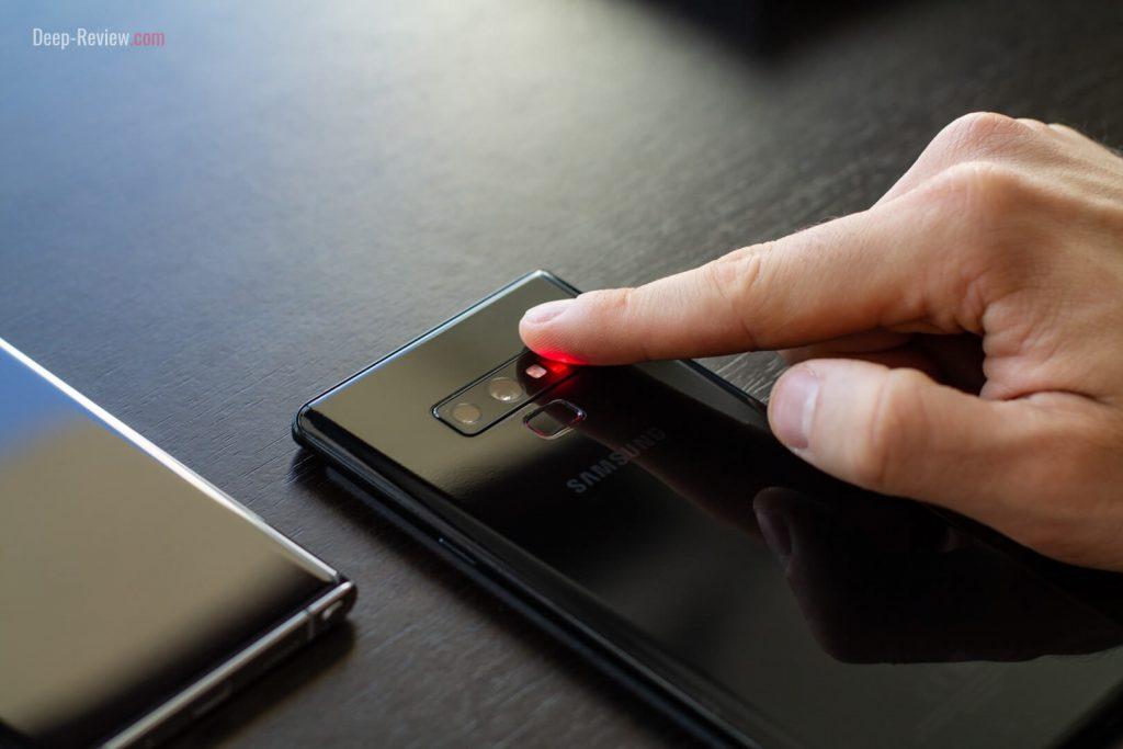 Пульсоксиметр (сканер пульса и SpO2) на Galaxy Note 9
