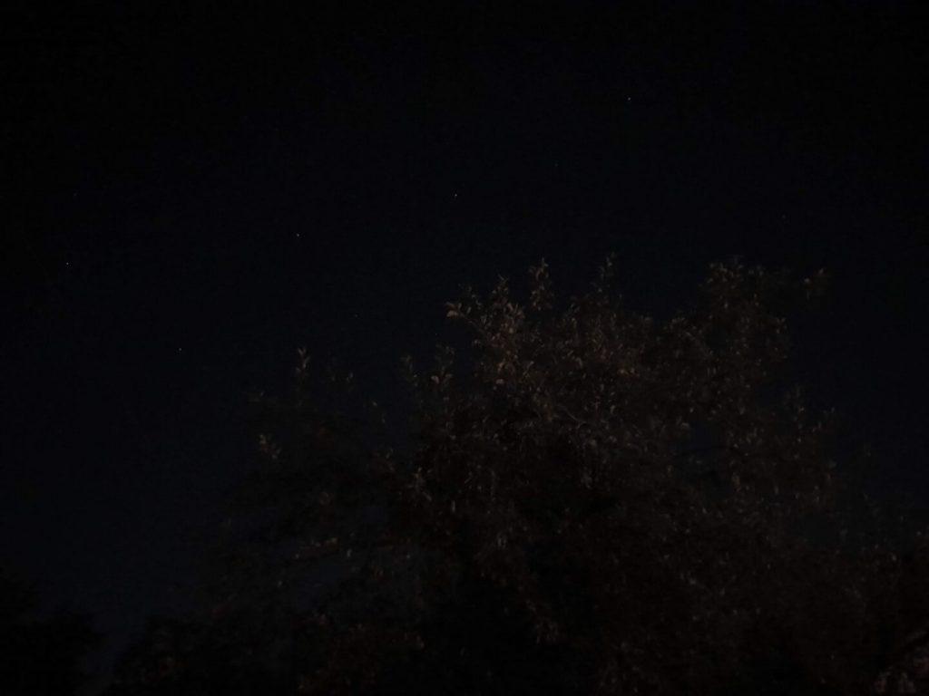 Пример ночного снимка на Galaxy Note 10+
