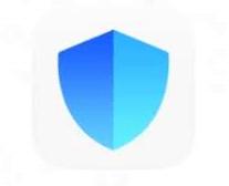 что за приложение с синим голубым щитом?