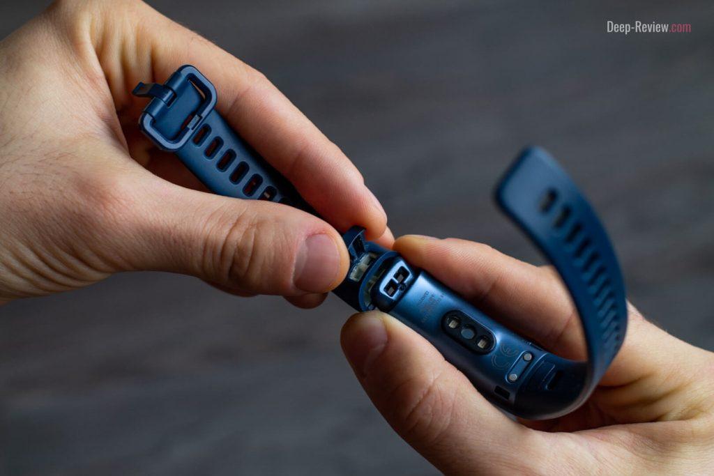 крепление ремешка к Huawei Band 3 Pro