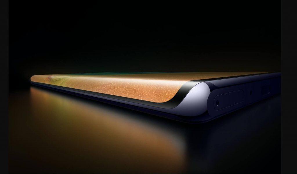 Дизайн экрана Huawei Mate 30 Pro
