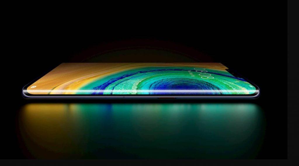 Изгиб экрана Huawei Mate 30 Pro