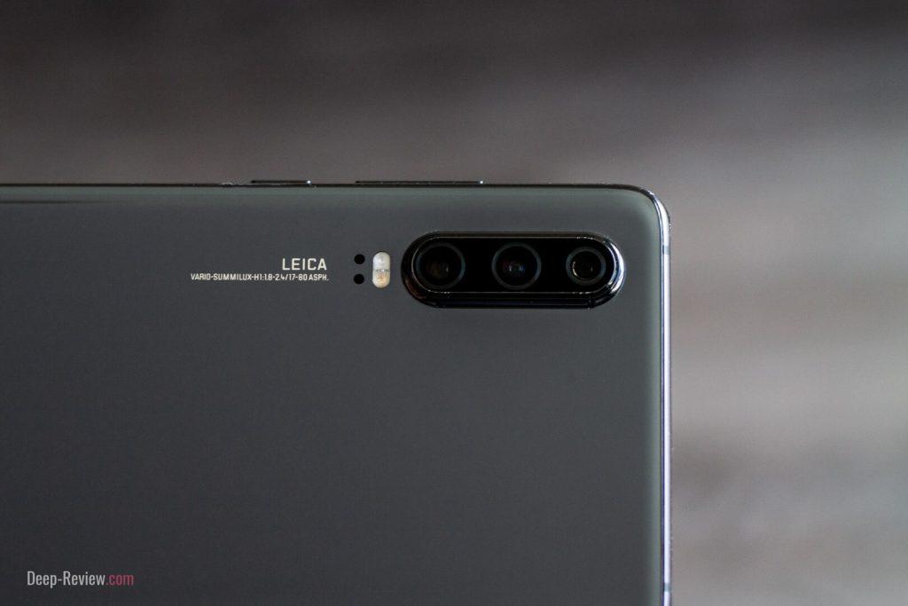 модуль камеры Leica на смартфоне huawei p30