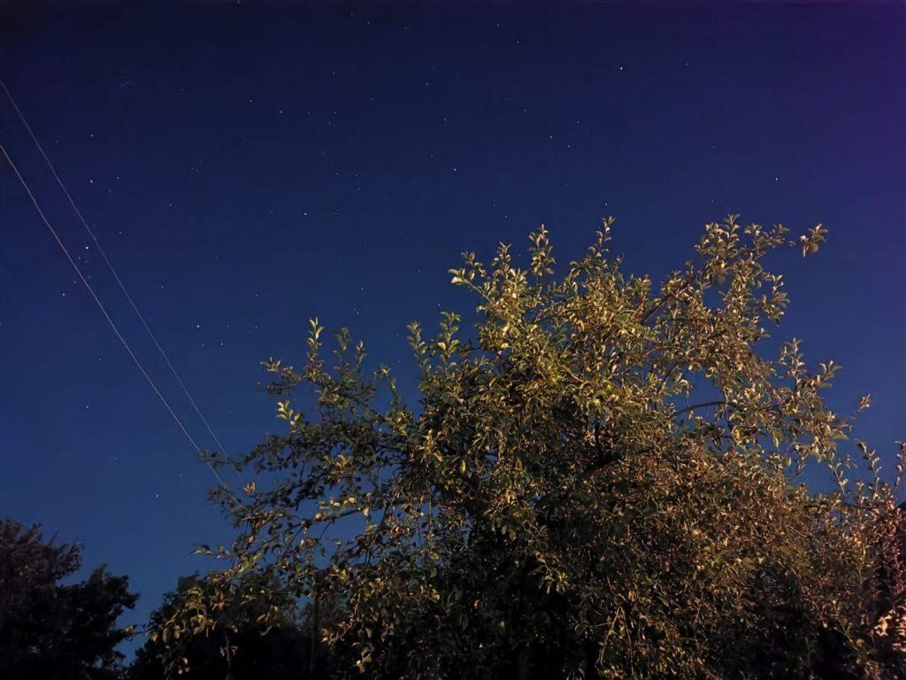 Ночной снимок на Huawei P30
