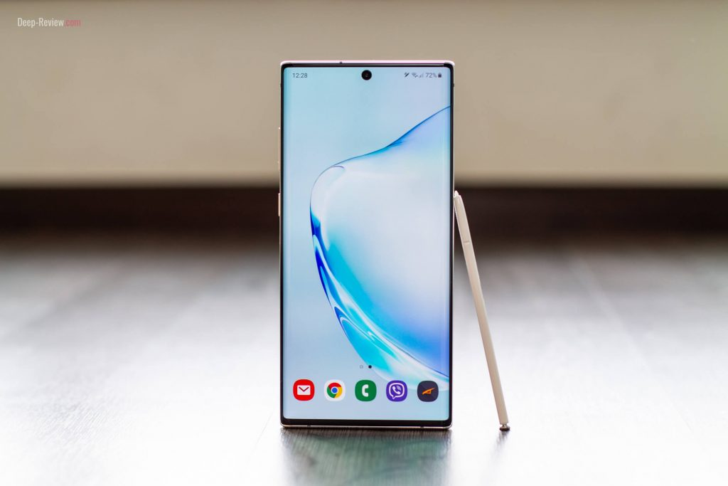 samsung galaxy note 10+ обзор