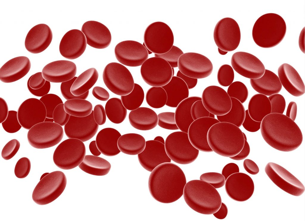 эритроциты, содержащие гемоглобин