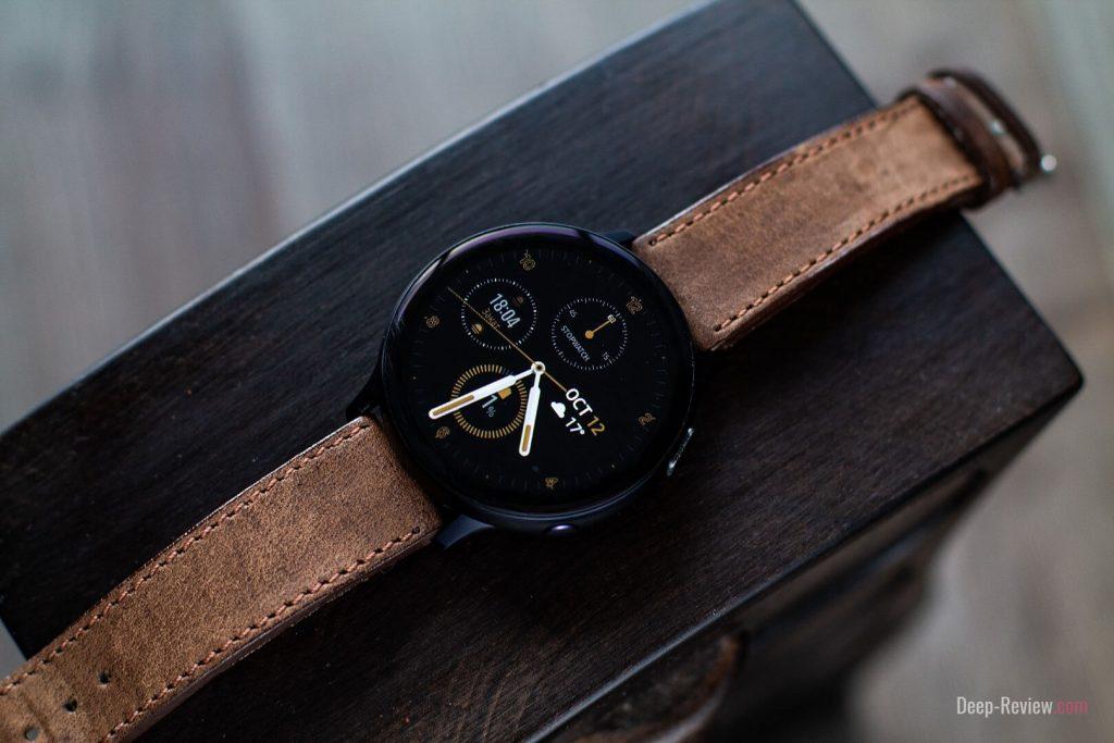дизайн galaxy watch active 2