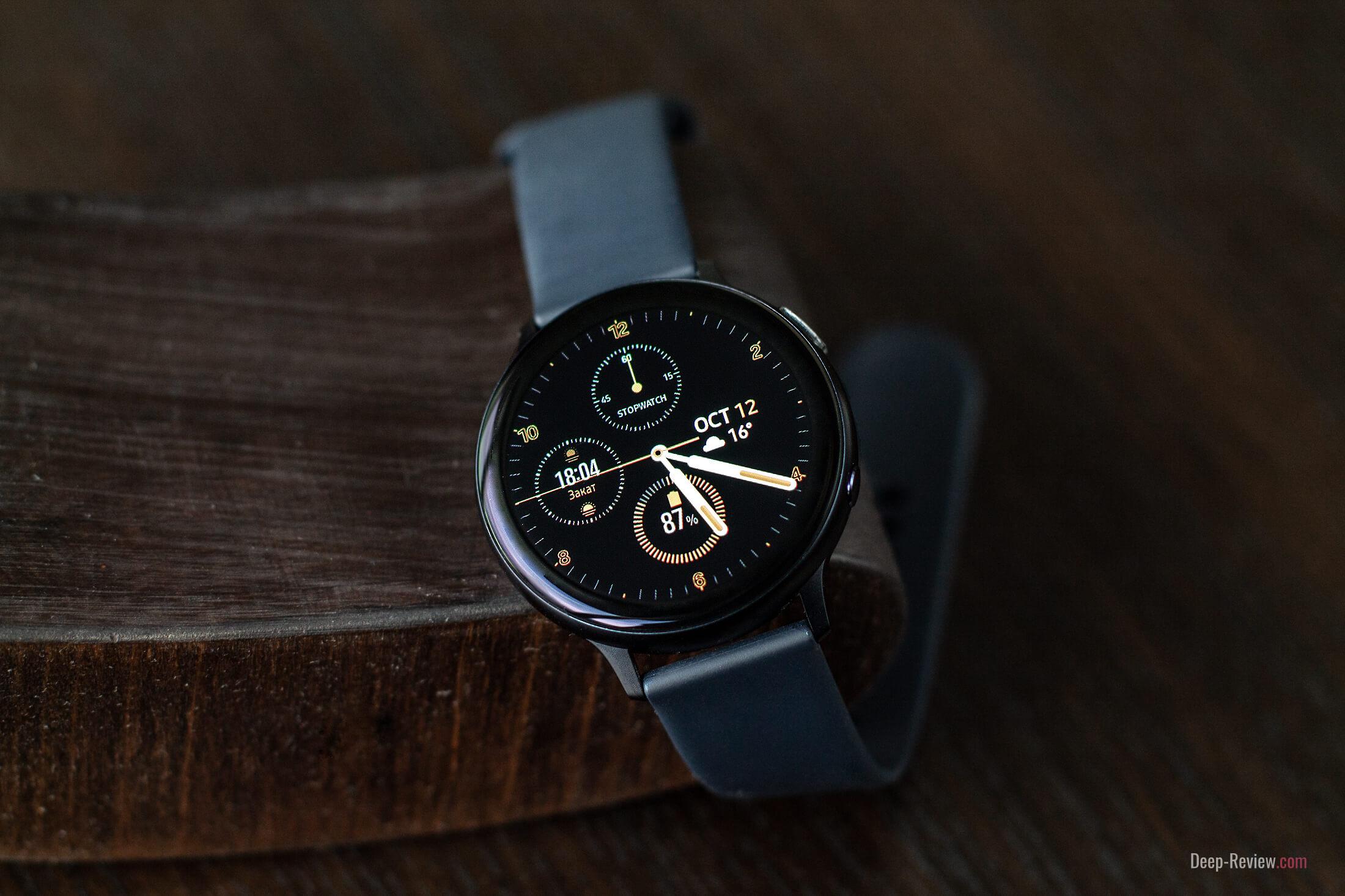 samsung galaxy watch active 2 обзор