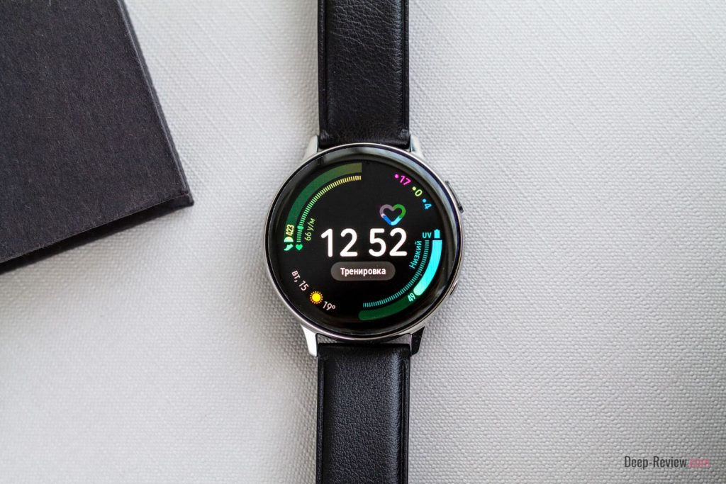 пример экрана без AOD на Galaxy Watch Active 2