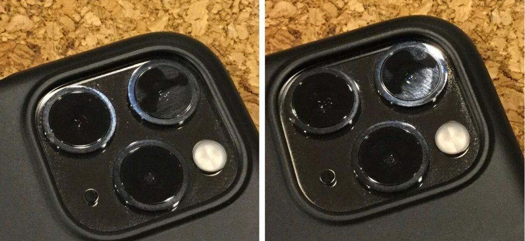 пятна на стекле iPhone 11