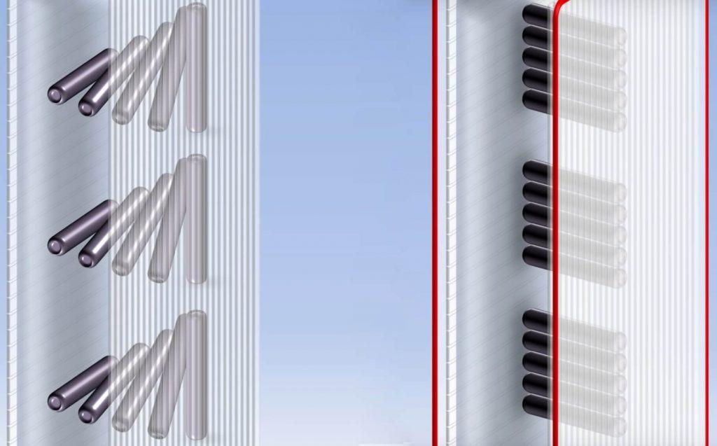 жидкие кристаллы IPS-экрана меняют поляризацию света