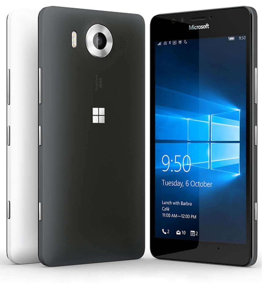 Lumia 950 с высокой частотой ШИМ