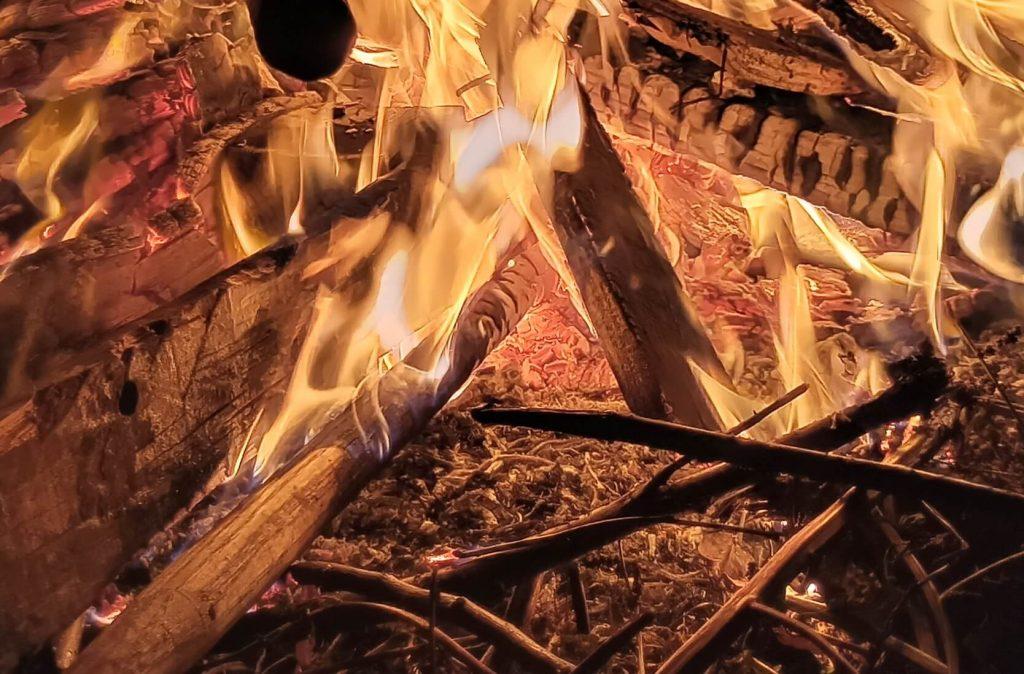 кроп снимка ночное фото