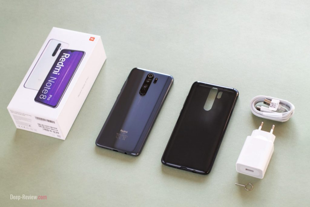 что в коробке с Redmi Note 8 Pro