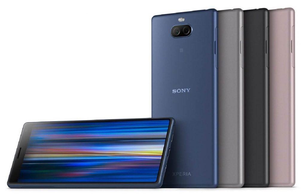 лучшие смартфоны с IPS-экраном: Sony Xperia 10