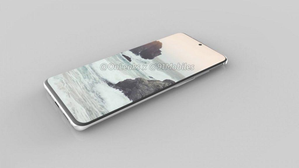 рендер Samsung Galaxy S11
