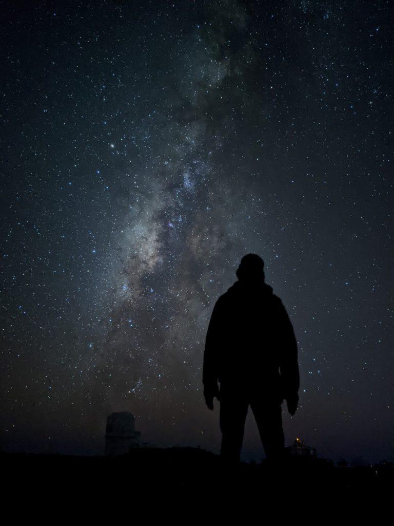 пример астрофотографии на Google Pixel 4