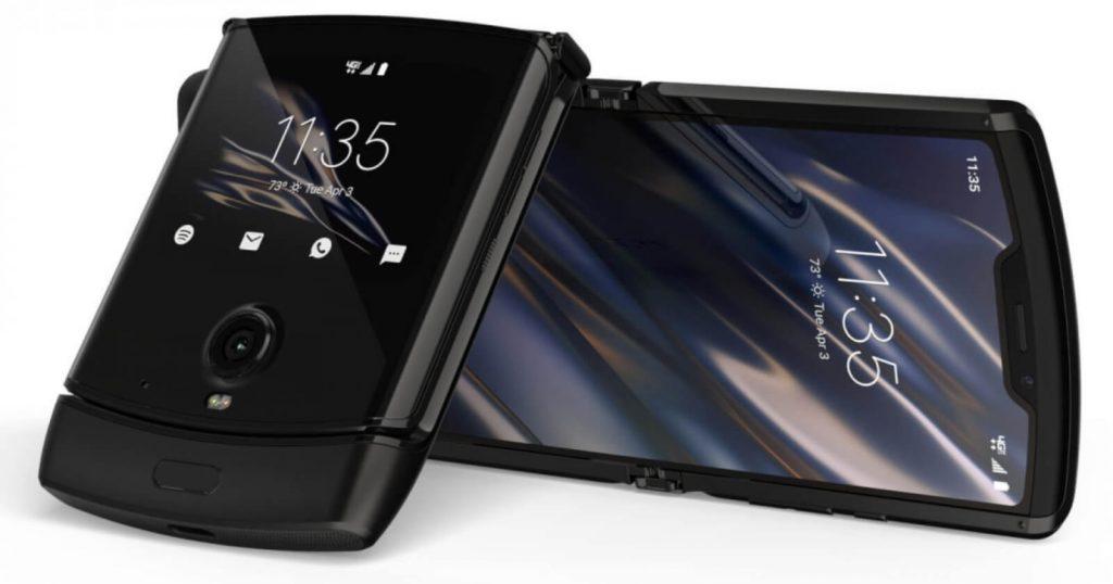 дизайн Motorola Razr 2019