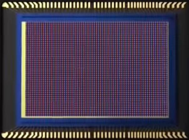 матрица смартфона с Dual Pixel PDAF