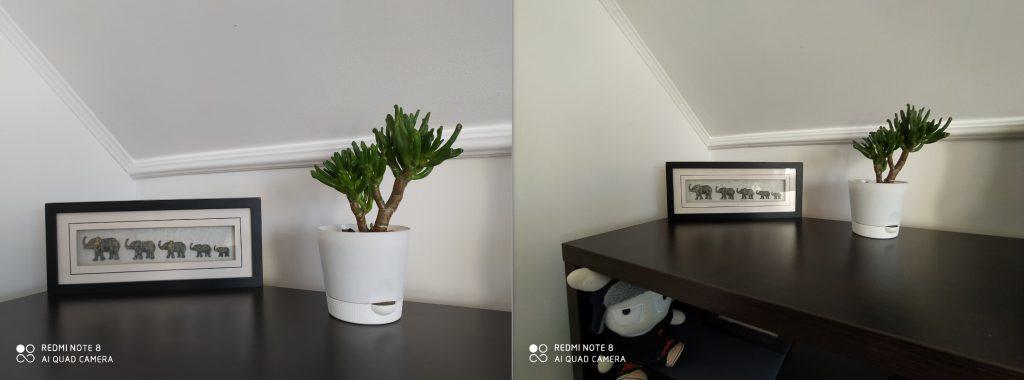 Сравнение основной и широкоугольной камеры Redmi Note 8