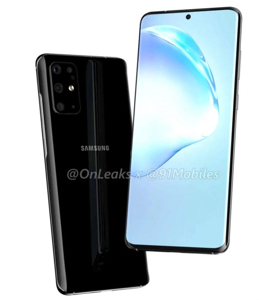 Дизайн Samsung Galayx S11 (утечка)