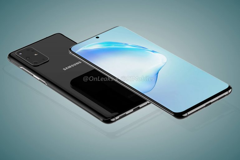 утечка дизайна Samsung Galaxy S11