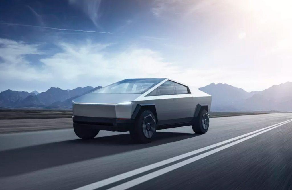 дизайн Tesla Cybertruck