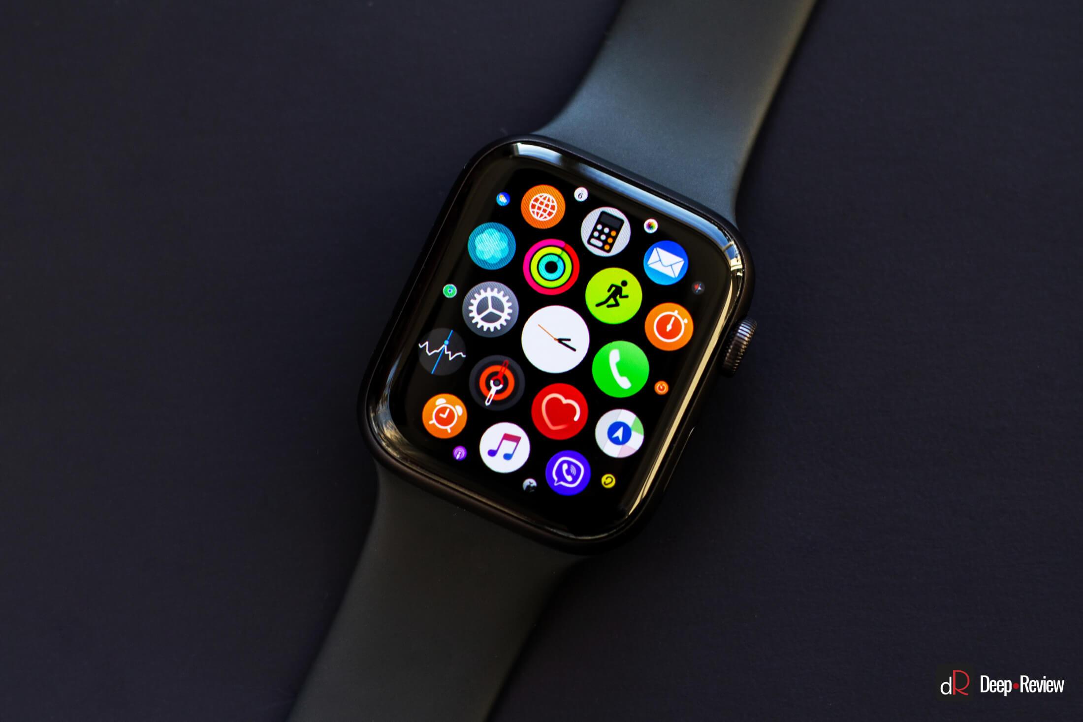 apple watch 5 обзор