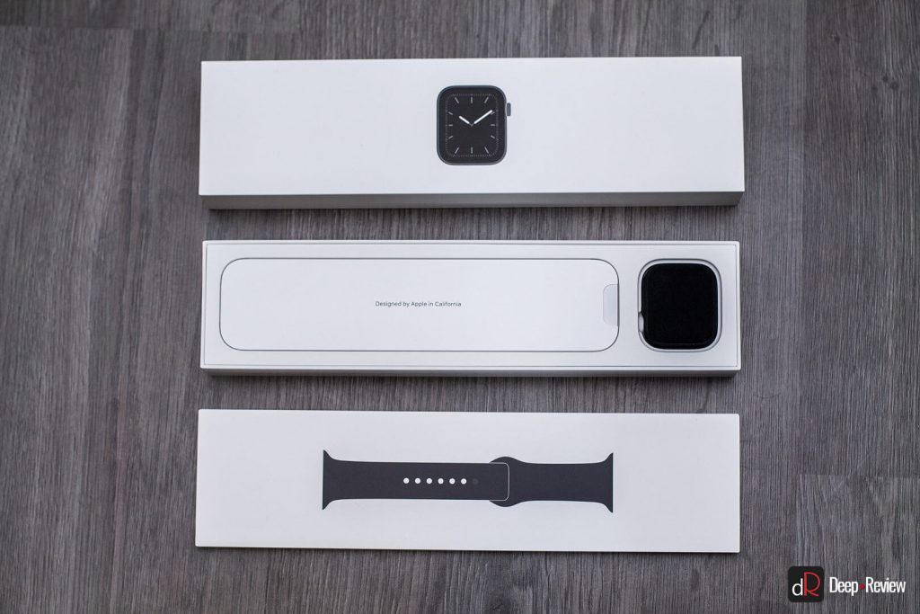 упаковка Apple Watch 5