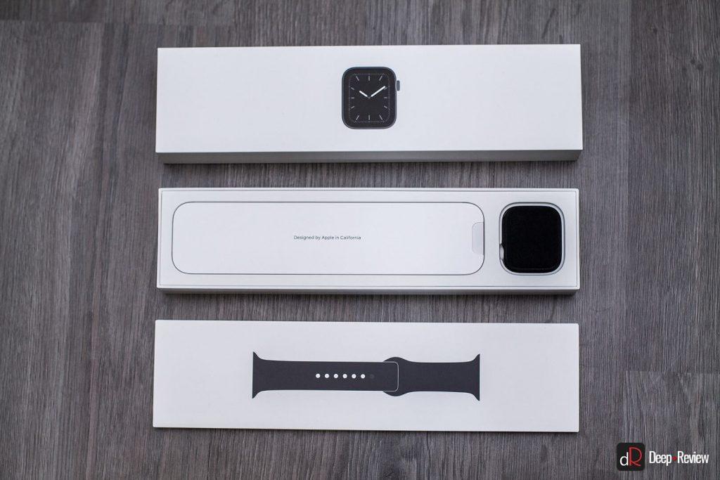 упаковка Apple Watch 5